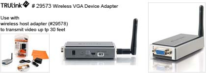 Wireless Vga Cable Trulink® Wireless Vga Device
