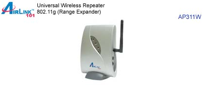 Wireless Repeater 802.11g (Signal Extender)