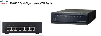 Network Router - Cisco RV042G