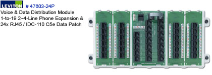 patch panel   bridged expansion board for structured