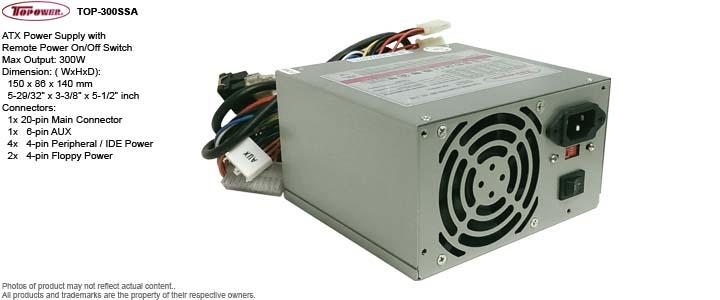 ATX Power Supply - Topower TOP-300SSA