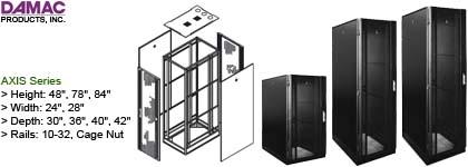 Rackmount Cabinet - Damac Axis Series