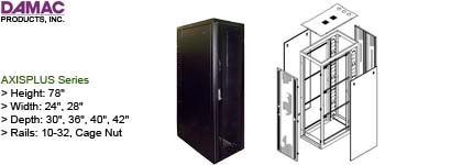 Rackmount Cabinet - Damac AxisPlus Series