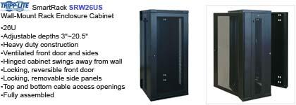 Wall Mount Cabinet - Tripp Lite Smartrack SRW26US