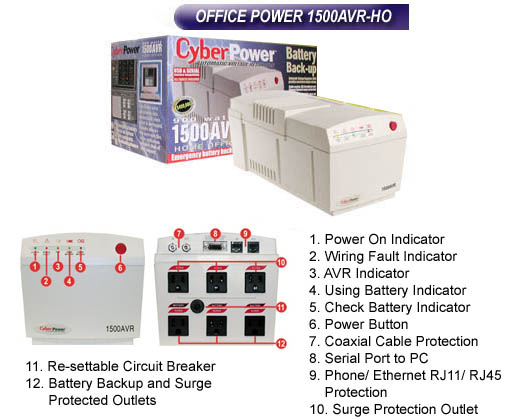 cyberpower 1500 avr how to change the battery